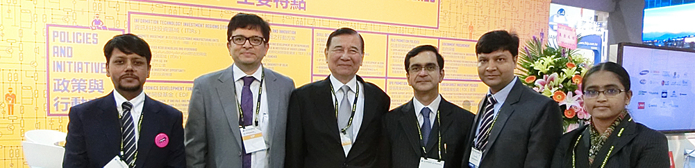 Taiwan India Business Association-印度館開幕-合影